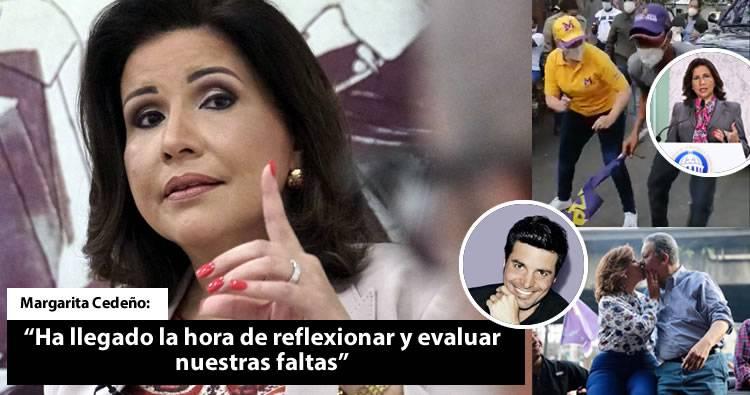 Margarita Cedeño: «ha llegado la hora de reflexionar y evaluar nuestras faltas