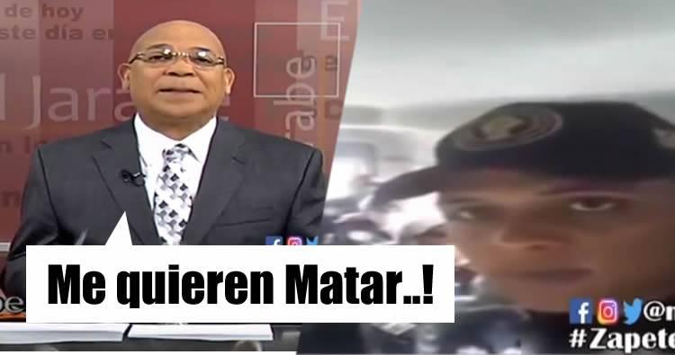 Video: Marino Zapete denuncia que lo quieren matar