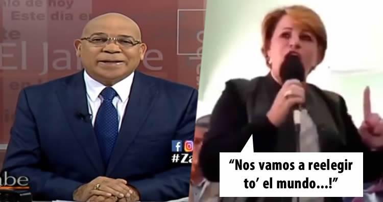 Marino Zapete le dice algunas 'cositas' a Lucia Medina
