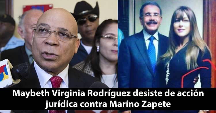 Hermana de Jean Alain Rodríguez, desiste de acción jurídica por difamación contra Marino Zapete