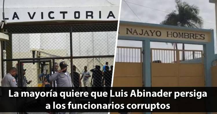 La mayoría quiere que Luis Abinader persiga a los funcionarios corruptos, según encuesta Greenberg