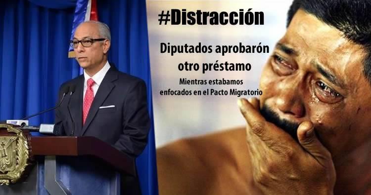 Gobierno dominicano no firmará el Pacto Migratorio