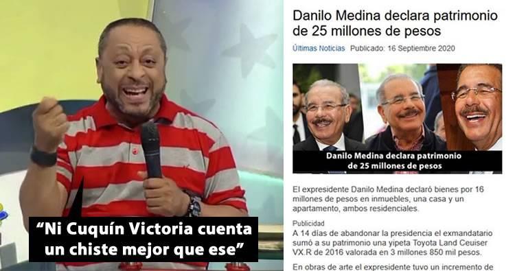 Video: Declaración de bienes de Danilo Medina es calificada como «chiste del año» según Michael Miguel