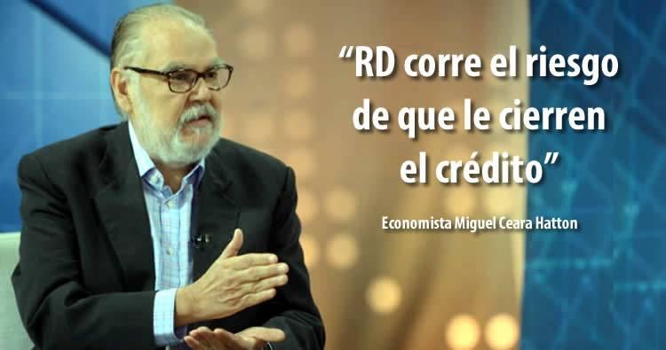 Economista Ceara Hatton dice RD corre el riesgo de que le cierren el crédito