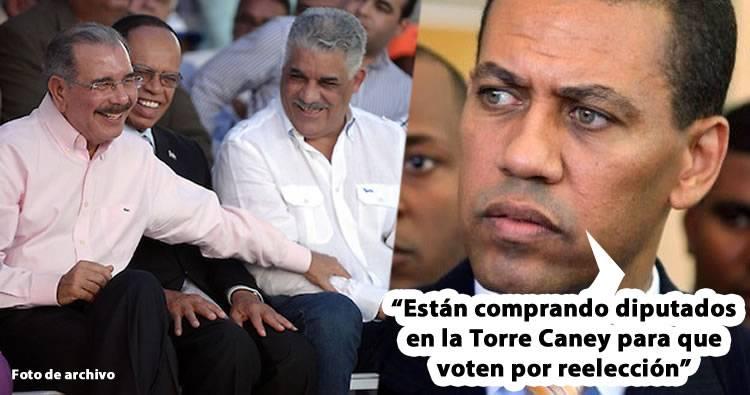 Miguel Vargas niega el PLD esté comprando legisladores del PRM para aprobar reelección
