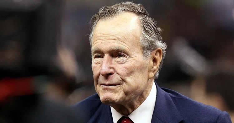Fallece expresidente de EEUU George H.W. Bush