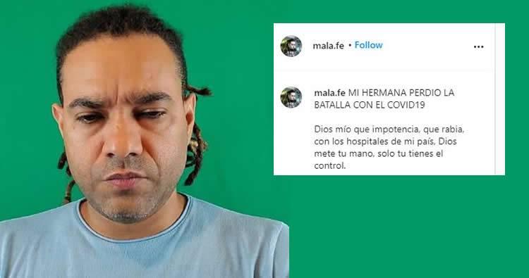 Muere hermana del merenguero Mala Fe por complicaciones del COVID-19