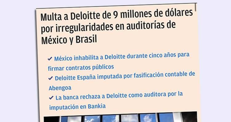 Critican selección de Deloitte para auditoría forense a voto automatizado