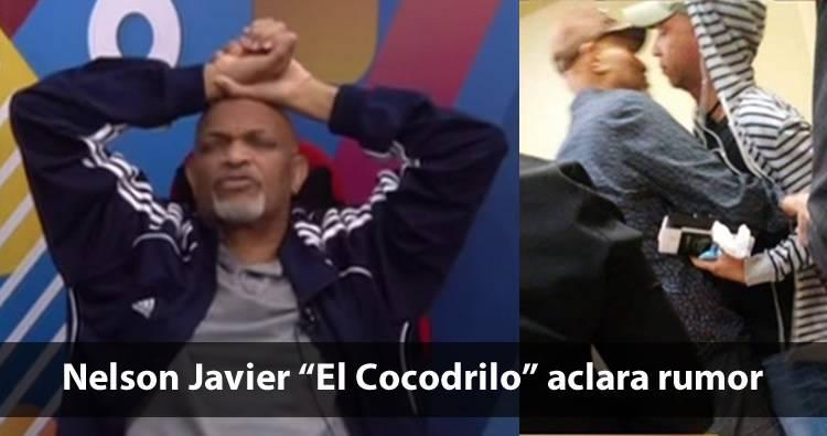 """Video: Nelson Javier """"El Cocodrilo"""" dice que le editaron su comentario"""