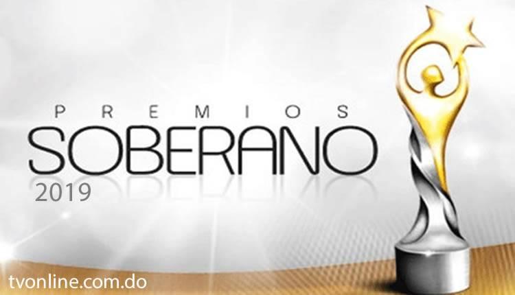 Los nominados a Premios Soberano 2019