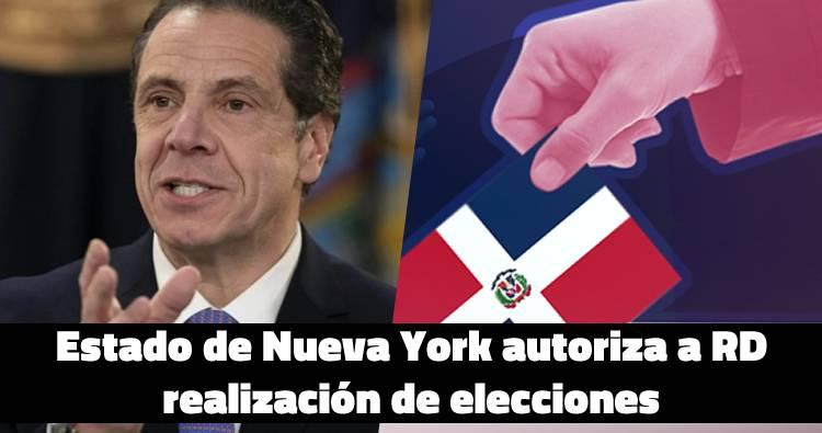Estado de Nueva York autoriza a RD realización de elecciones