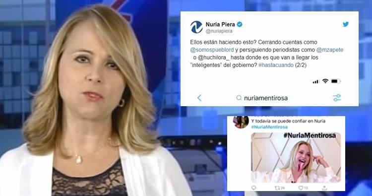 Nuria Piera denuncia crean cuentas falsas en redes sociales para desmeritarla