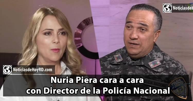 Nuria Piera entrevista a Ney Aldrín Bautista jefe de la policía