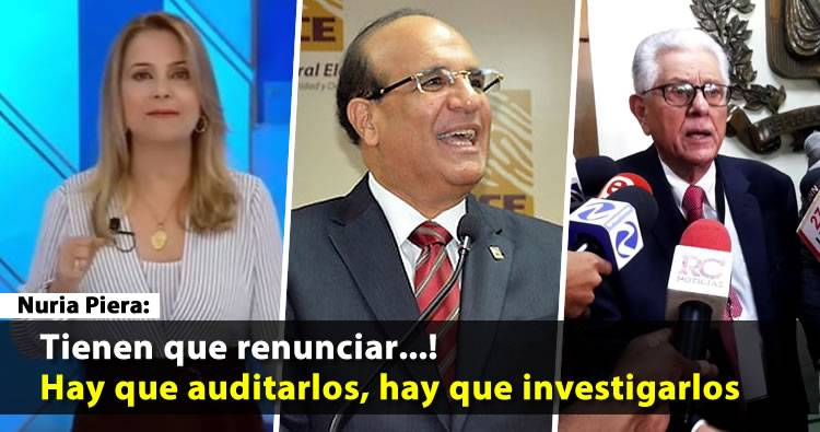 Nuria Piera: 'Sería el colmo que esa junta dirija las elecciones de mayo'