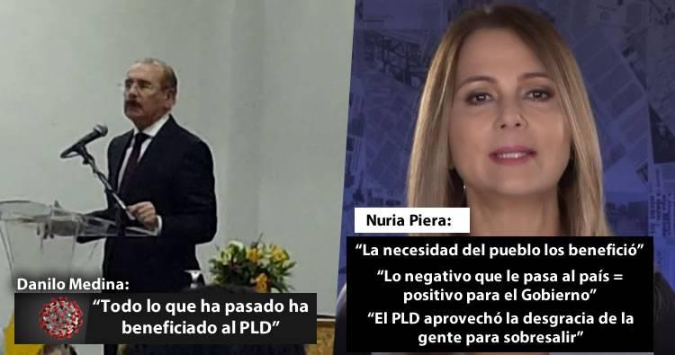 Video: Desahogo de Nuria Piera ante los comentarios de Danilo Medina en el video filtrado
