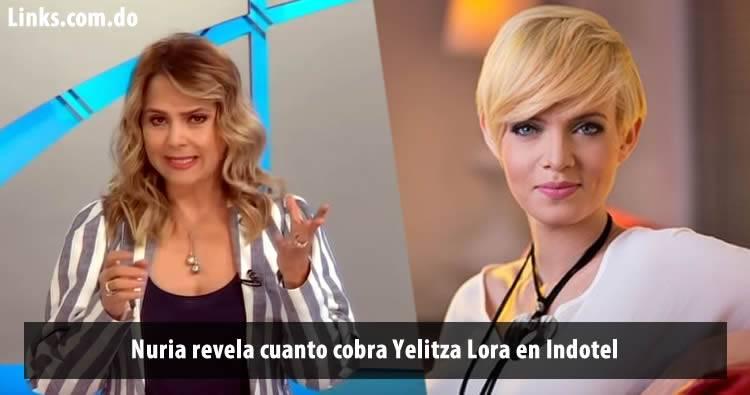 Nuria Piera revela cuanto cobra Yelitza Lora en Indotel