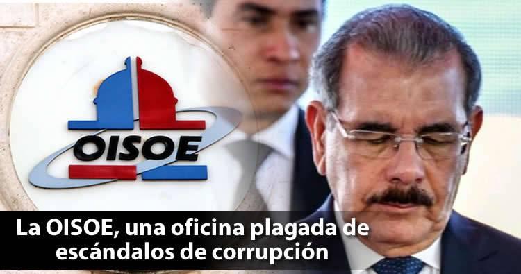 La OISOE, una oficina plagada de escándalos de corrupción llegará a su fin
