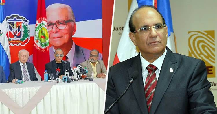Oposición dice la JCE se descalifica como árbitro