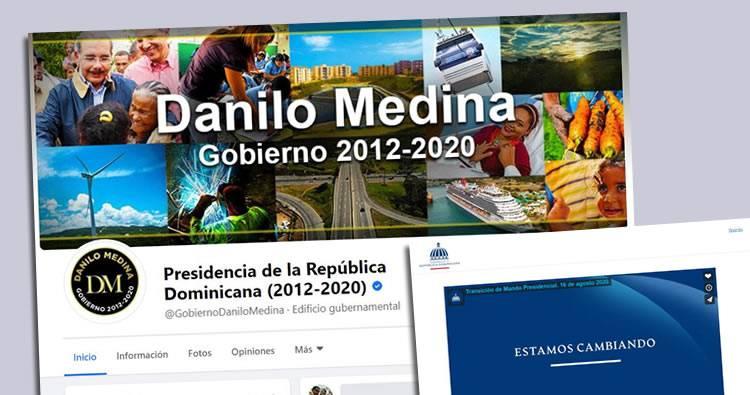 Página Presidencia migra contenidos a página de «Gobierno de Danilo Medina»