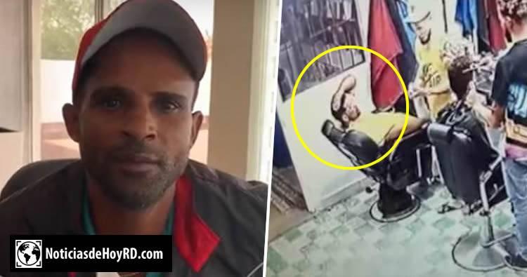 Padre de joven cómplice en colocación de droga en peluquería dice su hijo fue usado