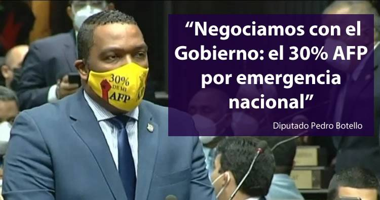 Pedro Botello admite que negoció con el Gobierno la aprobación del Estado de Emergencia