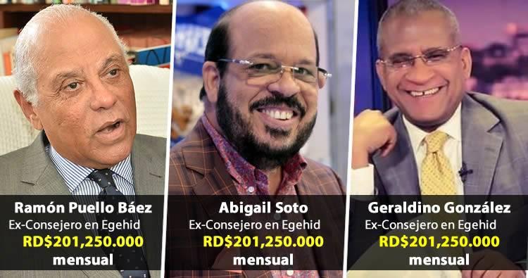 Periodistas cancelados de EGEHID cobraban más de 201 mil pesos mensual
