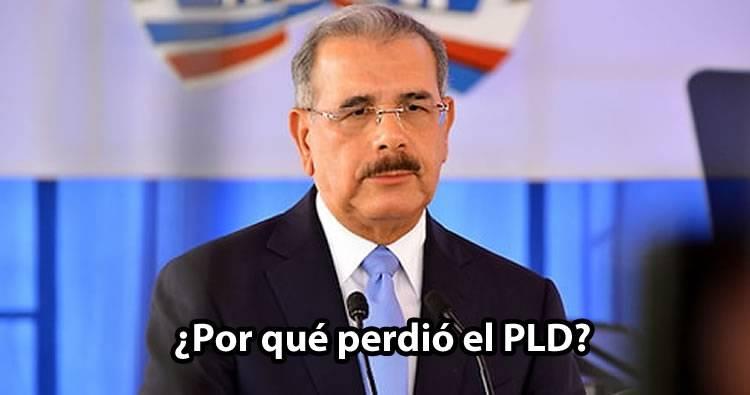¿Por qué perdió el PLD? según politólogo Anderson Rodríguez
