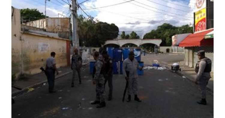 Protestas en la UASD por condena de 5 años de prisión a Marlin Martínez