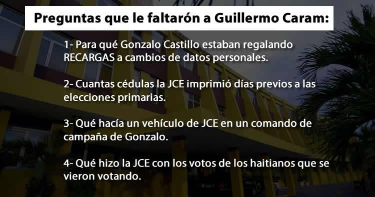 Guillermo Caram: 11 preguntas que la JCE debe responder