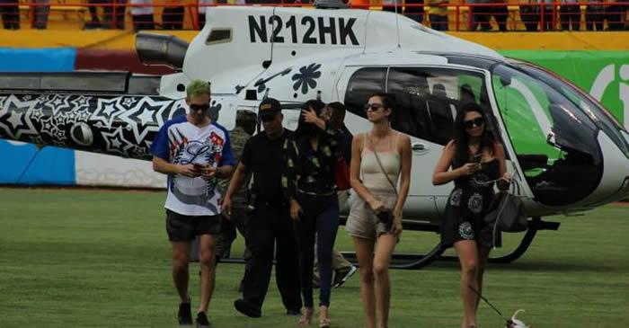 Sancionan a Karim Abu Naba'a por aterrizar helicóptero en el estadio donde se celebraba partido entre Aguilas y Licey