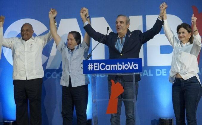 En cómputo final JCE, PRM conquistó la Presidencia y el Congreso