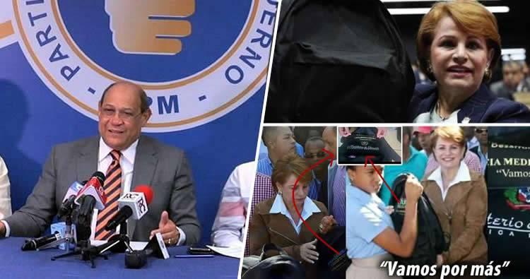 PRM solicita investigación exhaustiva sobre licitación de mochilas #MochilaGate
