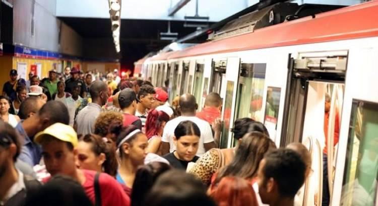 Metro de Santo Domingo presenta problemas