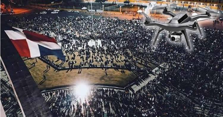 IDAC Prohíbe uso de drones en la Plaza la Bandera