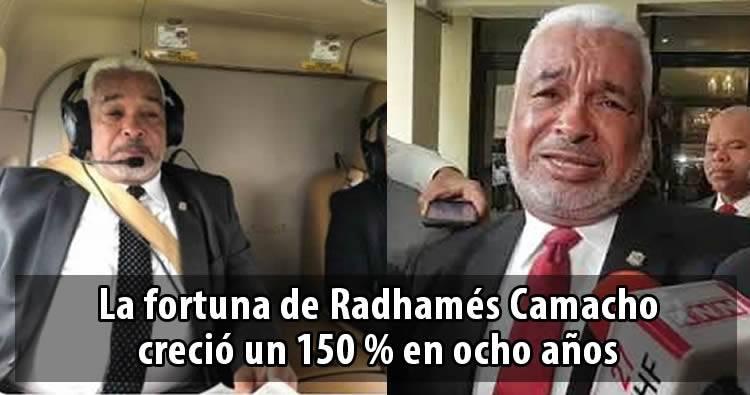 Diputado Radhamés Camacho 'solo' declaró RD$70.7 millones