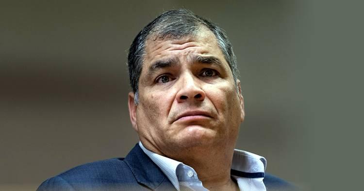 Juez de Ecuador ordena la captura de Rafael Correa y otros imputados de corrupción