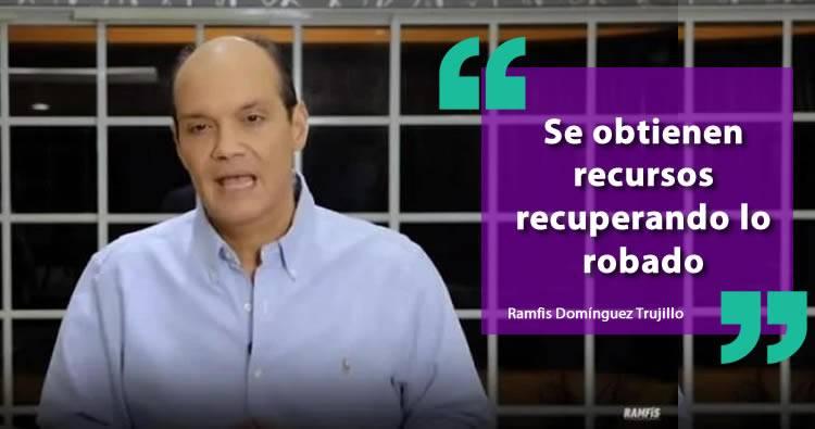 Ramfis se declara en contra de más impuestos y dice se obtienen recursos recuperando lo robado