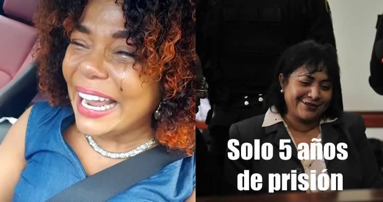 Video: Reacción de Cheddy García por la risoria condena de Marlín Martínez