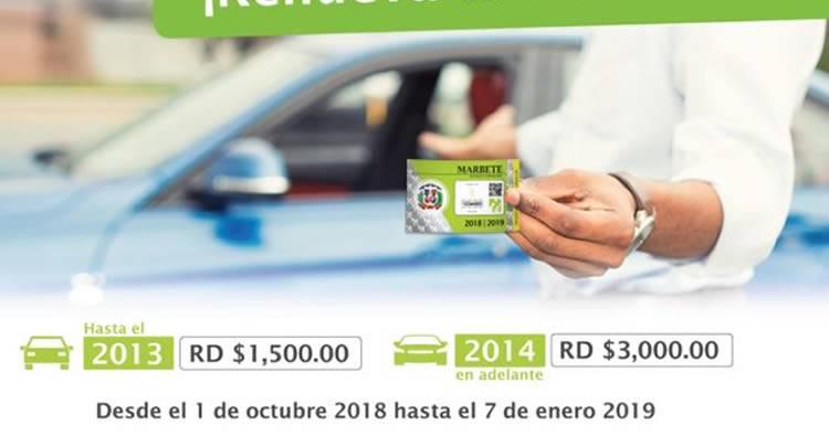 Más de la mitad vehículos no ha renovado marbete a diez días de vencer plazo
