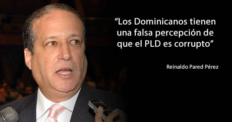 Video: Reinaldo Pared dice que los dominicanos tienen una falsa percepción de que el PLD es corrupto