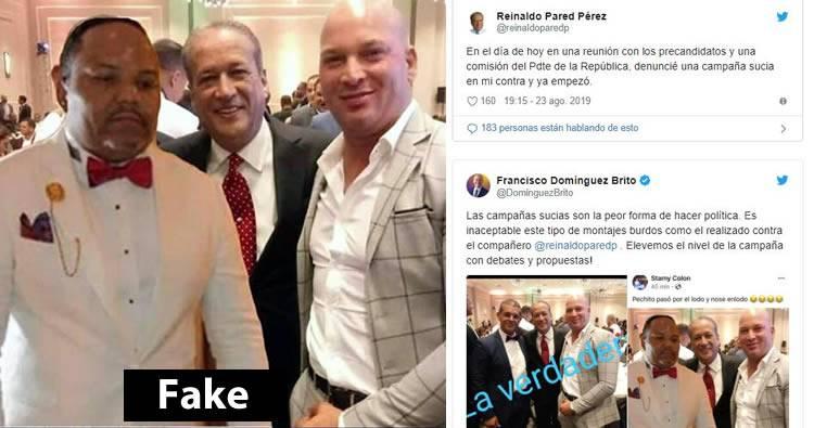 """Reinaldo Pared Pérez denuncia campaña sucia en su contra que lo vincula a César """"El Abusador"""""""