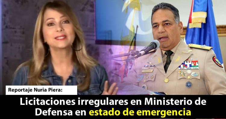Video Nuria: Licitaciones irregularidades en la compra de Emergencia del Ministerio de Defensa