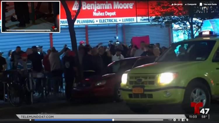 Video Reportaje Telemundo: Violentas protestas contra Danilo Medina en Nueva York
