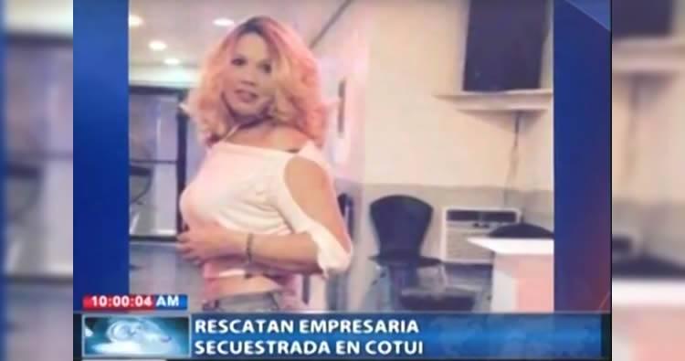Video: Rescatan a Yacaira Pérez Ortega, dueña de discoteca que había sido secuestrada