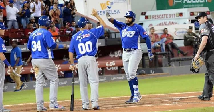Jonrones de Juan Francisco y Jorge Bonifacio, Licey vence a Gigantes