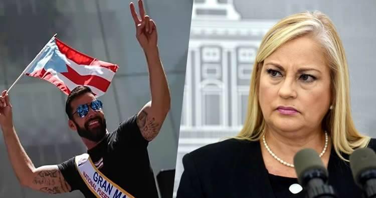 Ricky Martin pide dimisión de la gobernadora de Puerto Rico