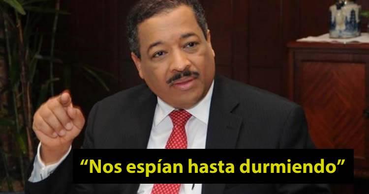 """Roberto Rosario: """"nos espían hasta durmiendo"""""""