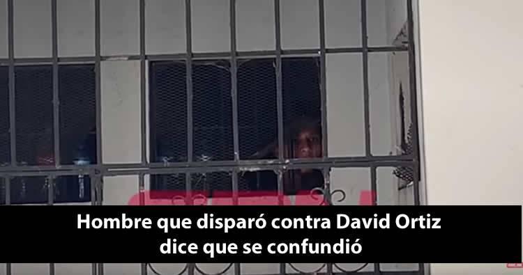 Video: Hombre que disparó contra David Ortiz dice que se confundió, dizque no era a Él
