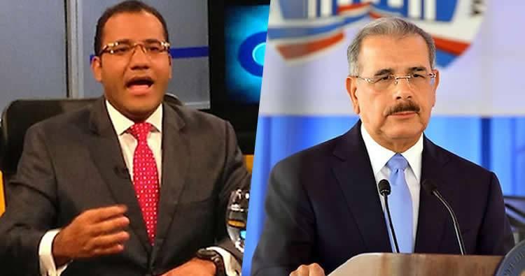 Video: Lo que le dijo Salvador Holguin a Danilo Medina que casi se vuelve viral