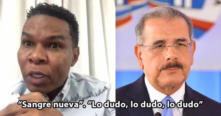 'Sangre nueva' el trabalengua de Raymond Pozo tirándole a Danilo Medina
